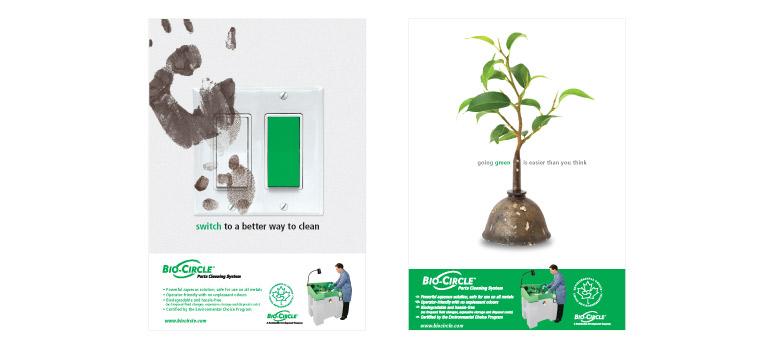 Advertising Portfolio - Bayou Design Studios