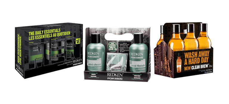 Client: Redken 5th Avenue NYCProject: Redken For Men Packaging