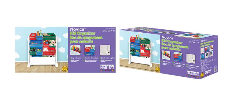 Client: Advanced Habitat kids/enfantsProject: Novica Toy Rack